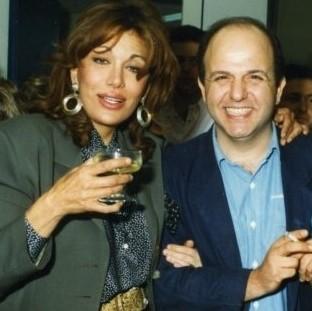 Η Μαίρη Χρονοπούλου και ο Νίκος Μουρατίδης το 1993
