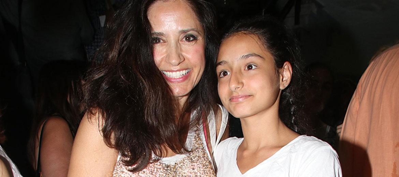 Η Βάσω Γουλιελμάκη και η κόρη της